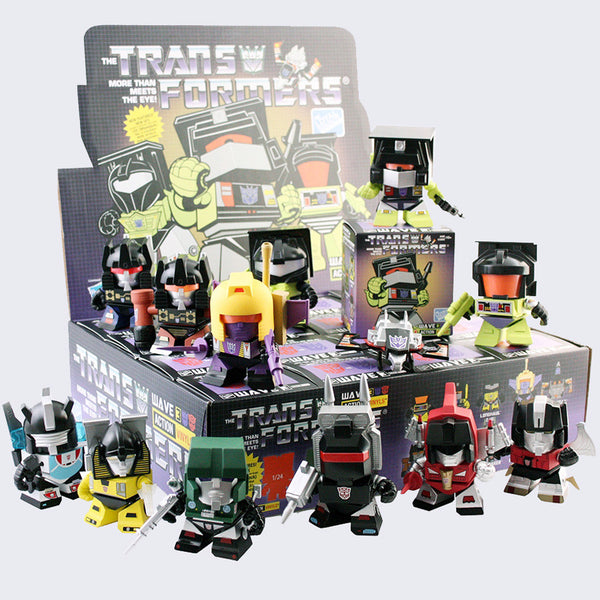 The Loyal Subjects x Transformers Mini Vinyl Figure (Series 3)