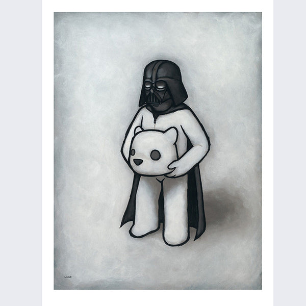 Luke Chueh - Headspace Darth Vader Artist Proof Print