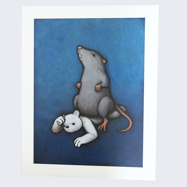 Luke Chueh - The Rat Print