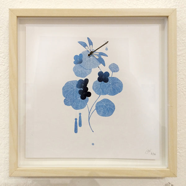 Maggie Chiang - Dragonfly - #11 (Riso print - framed/unframed)