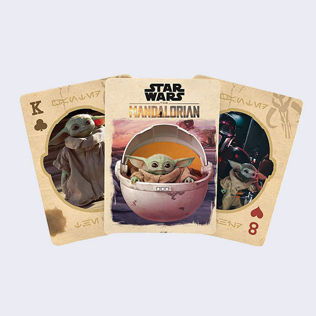 The Mandalorian Playing Card Set