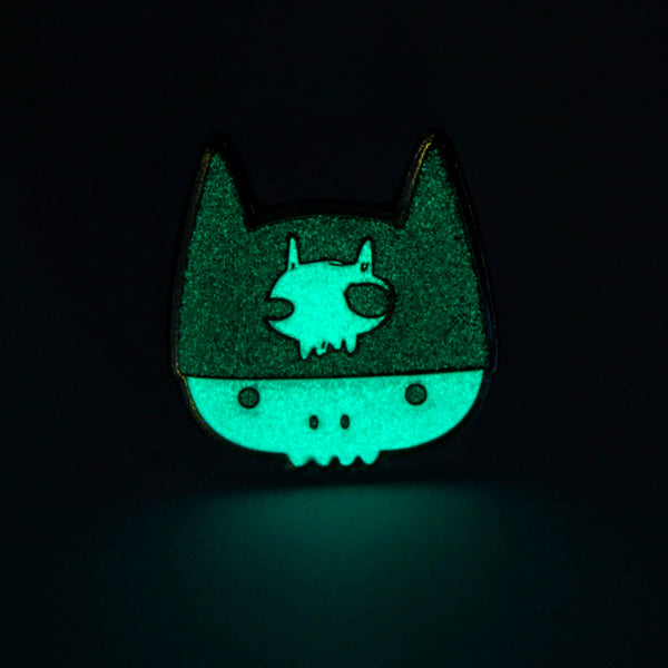 Take A Penny Co. - Artist Series: Mari Inukai Marilla Enamel Pin (Glow-in-the-Dark)