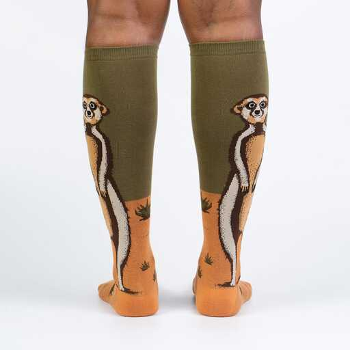 Meerkat Manner Knee High Socks