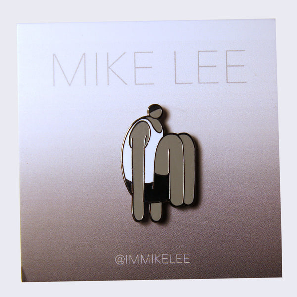 Mike Lee Floating Man Enamel Pin
