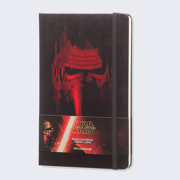 Moleskine - Star Wars Kylo Ren - Ruled Notebook (Large)