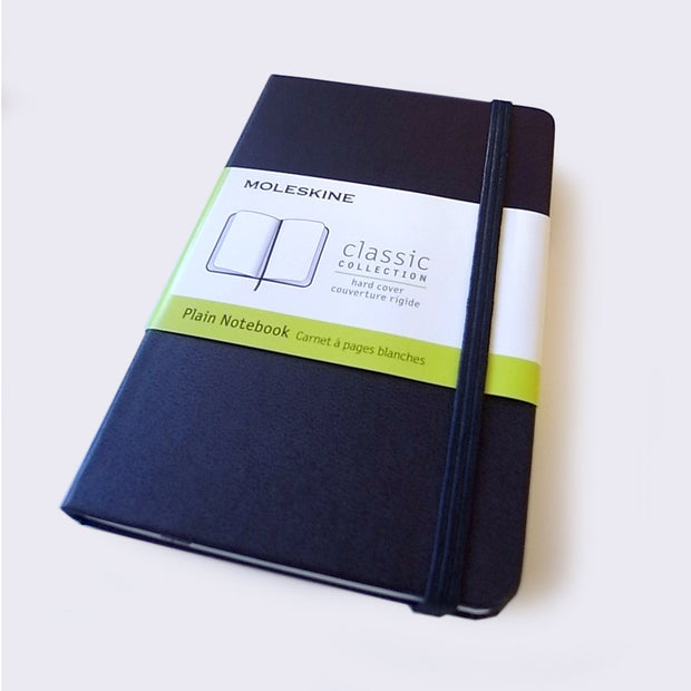 Moleskine Plain Notebook Hardcover (Small)