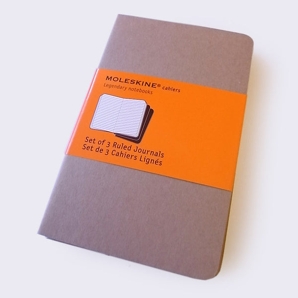 Moleskine Set of 3 Ruled Notebooks (Small)