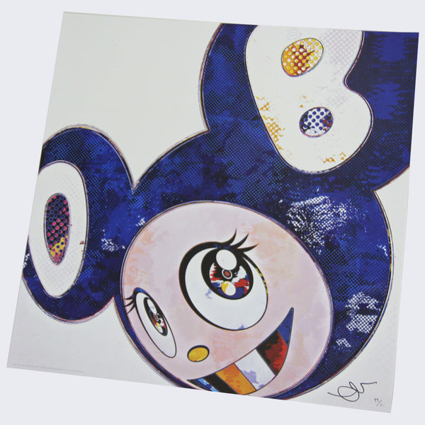Takashi Murakami - And Then x 727 (Ultramarine: GUNJO)