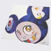 Takashi Murakami - And Then x 6 (Blue: The Superflat Method)