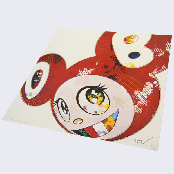 Takashi Murakami - And Then x 727 (Vermillion: SHU)