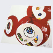 Takashi Murakami - And Then x 6 (Red: The Superflat Method)