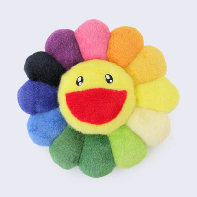 Takashi Murakami - Rainbow Flower Cushion (12 inches)