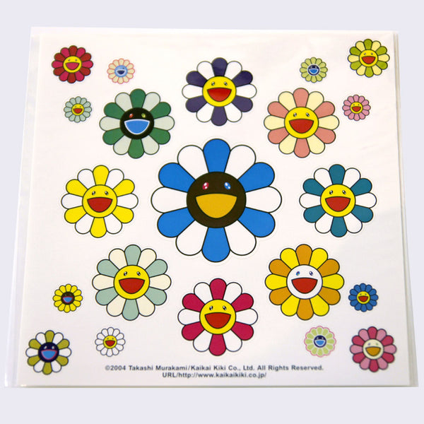 Takashi Murakami - Flower Sticker Sheet (New Flower)