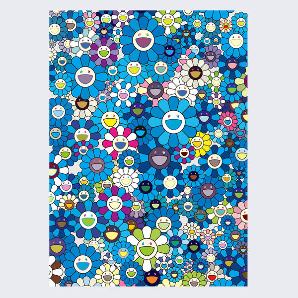 Takashi Murakami - An Homage to IKB, 1957 D