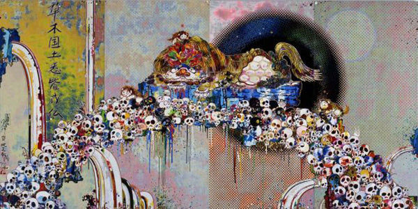 Takashi Murakami - As The Interdimensional Waves Run Through Me, I Can Distinguish Between The Voices of Angel and Devil