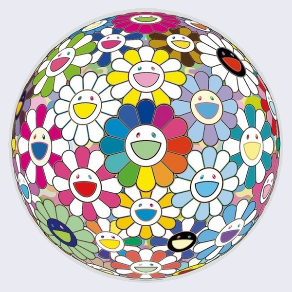 Takashi Murakami - Flowerball: Want to Hold You