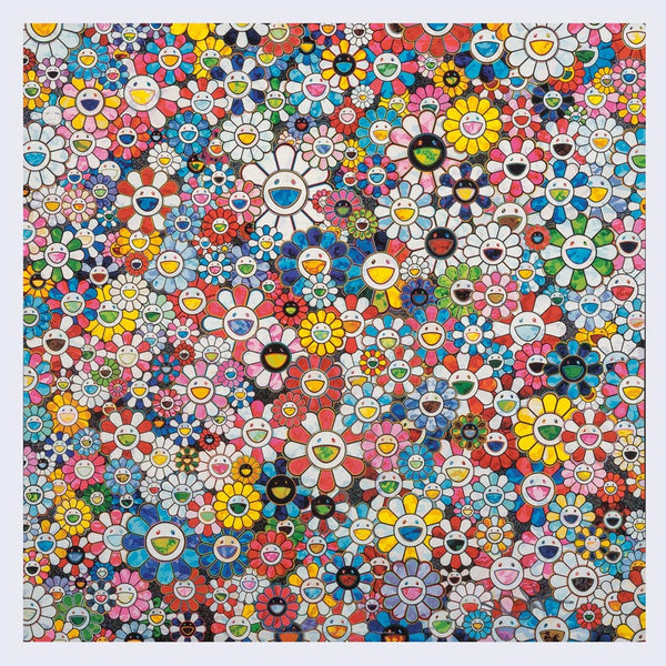 Takashi Murakami - The Future will Be Full of Smile! For Sure!