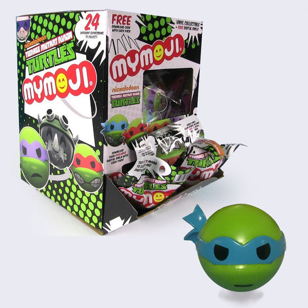 Funko - Teenage Mutant Ninja Turtles Mymoji Head Figure