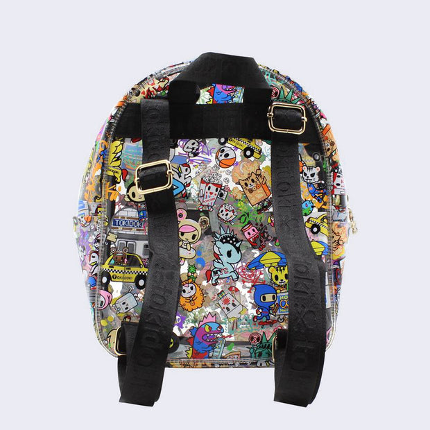 Tokidoki - NYC Collection Mini Clear Backpack