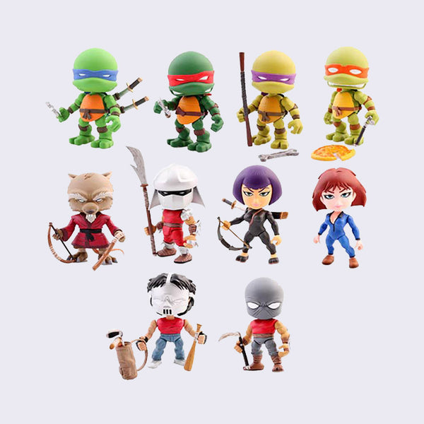The Loyal Subjects x Teenage Mutant Ninja Turtles Mini Vinyl Figure
