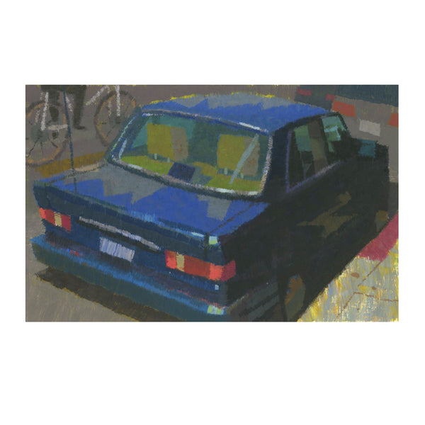 Peter Chan - Blue Car - #28