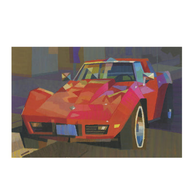 Peter Chan - Red Car - #35