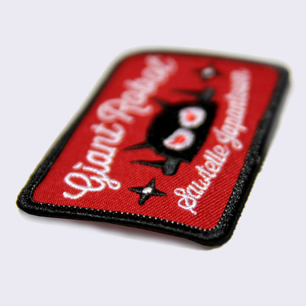 Giant Robot - Sawtelle Embroidered Patch