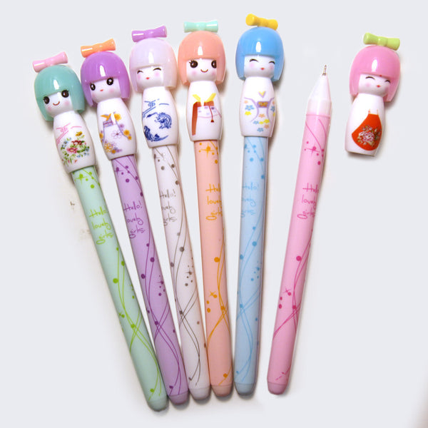 Kokeshi Doll Pen (Assorted)