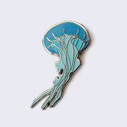 Giant Robot - Jellyfish Enamel Pin (Glow-in-the-Dark)