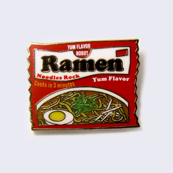 Giant Robot - Top Ramen Enamel Pin