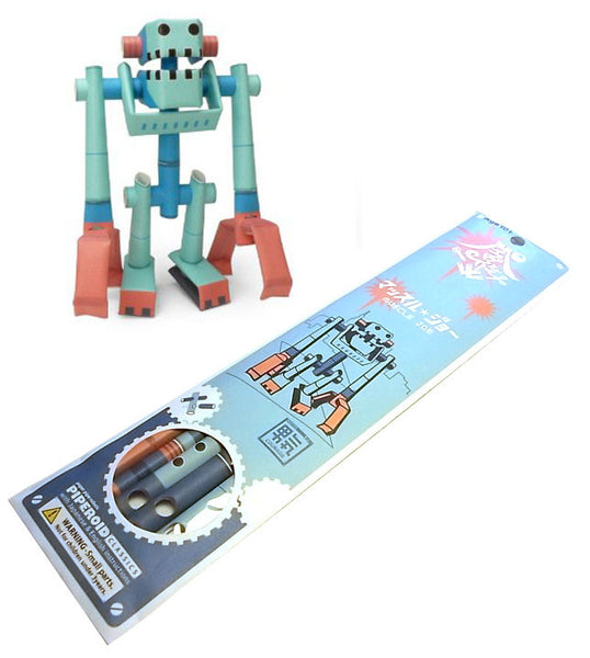 Piperoid - Paper Pipe Robot Figure (Muscle Joe)