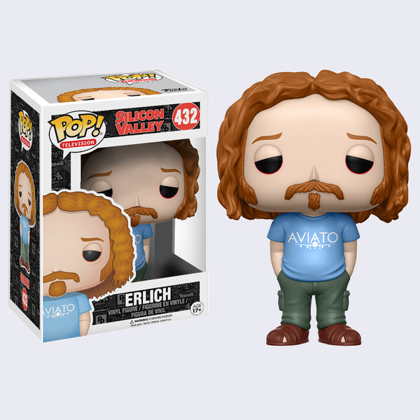Silicon Valley Pop! Vinyl Figure (Erlich)