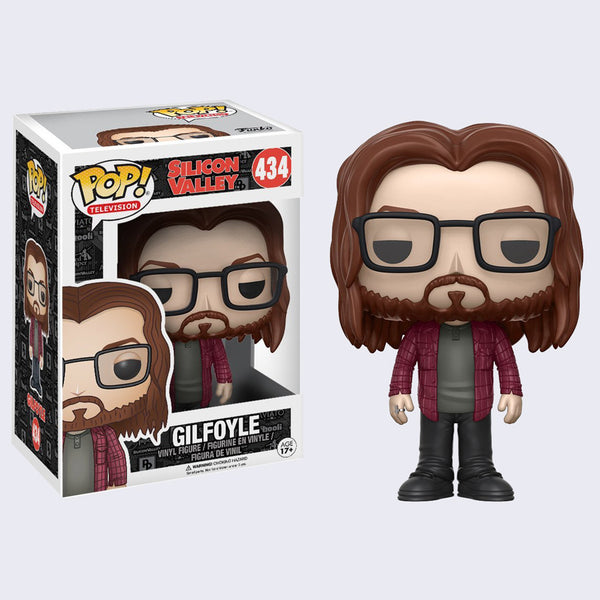Silicon Valley Pop! Vinyl Figure (Gilfoyle)