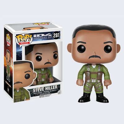 Funko - Pop! Independence Day Steve Hiller Vinyl Figure