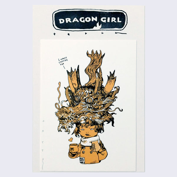Katsuya Terada - Dragon Girl Print