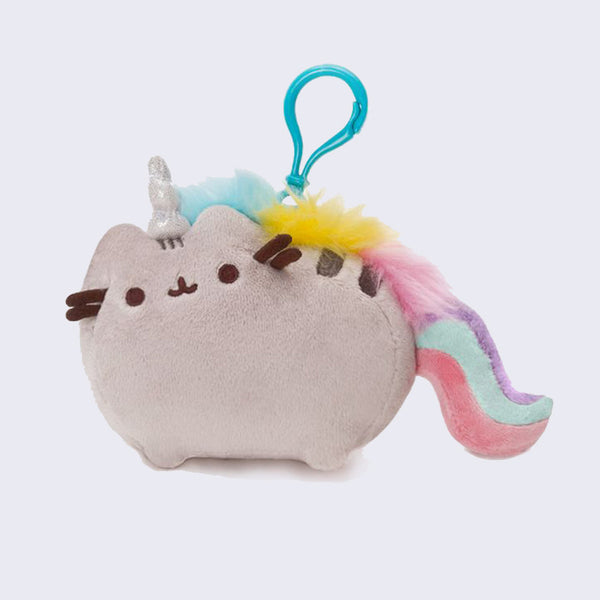 Pusheen Small Unicorn Plush Clip-On