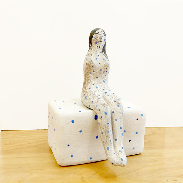 Cones of Vision - Rami Kim - Polka Dot Lady Sitting on Polka Dot Chair #26