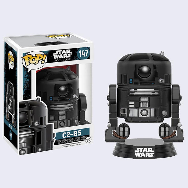 Star Wars: Rogue One Bobble-Head Vinyl Pop! Figure (C2-B5)