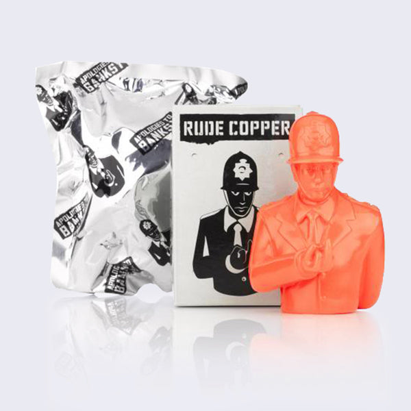 "Apologies to Banksy - Rude Copper 4"" Vinyl Figure (Assorted Colors)"