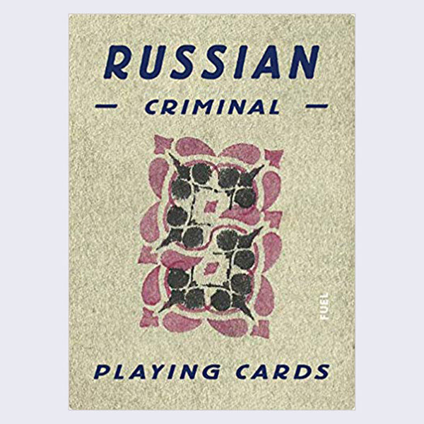 Russian Criminal Playing Cards