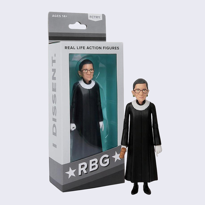 FCTRY - Ruth Bader Ginsburg RBG Action Figure
