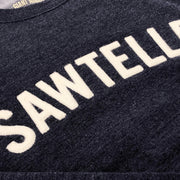 Giant Robot - Sawtelle Pull Over Crew Neck Sweatshirt (Dark Blue Heather)