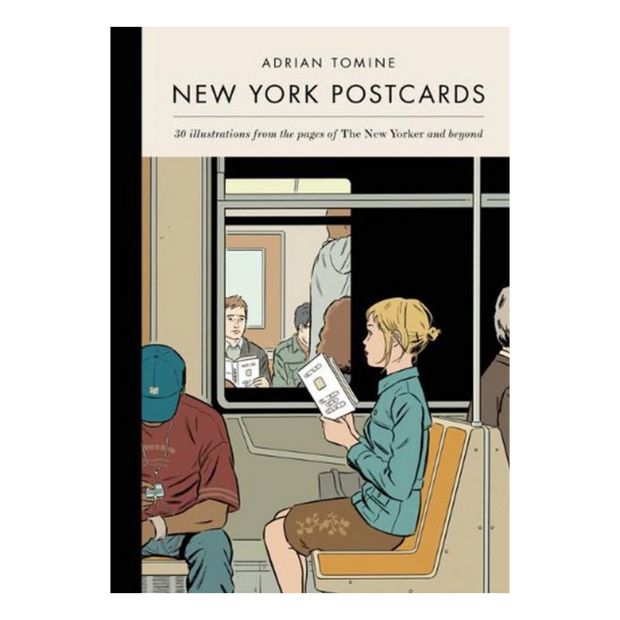 Adrian Tomine - New York Postcards Set