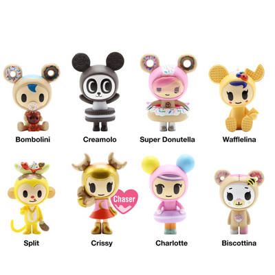 Tokidoki - Donutella & Her Sweet Friends Blind Box - Series 3
