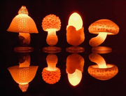 Mushroom Led Light Up Keychain - Blind Box