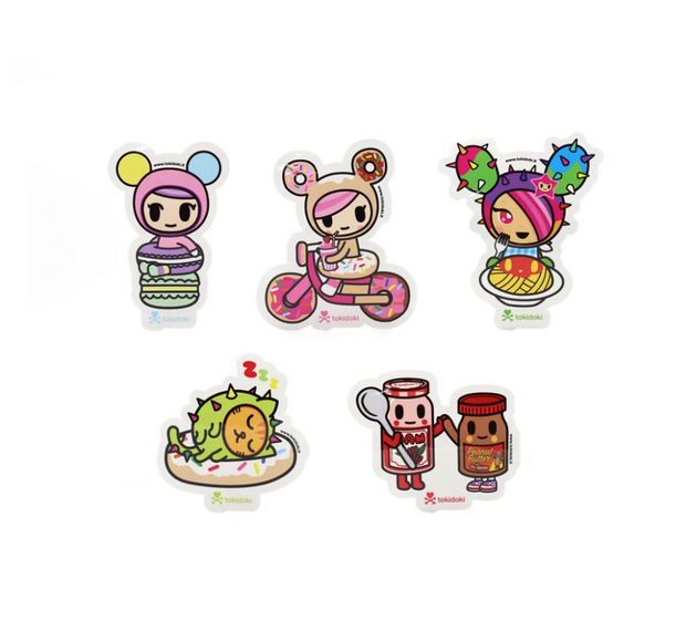 Tokidoki - Cravings Sticker Pack (Assorted)