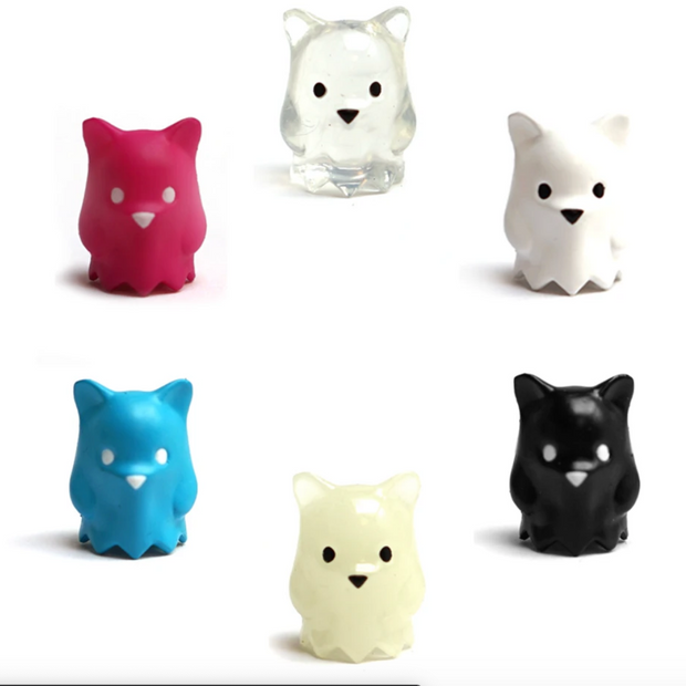 Luke Chueh Mini Ghost Bear - Multiple Colorways!