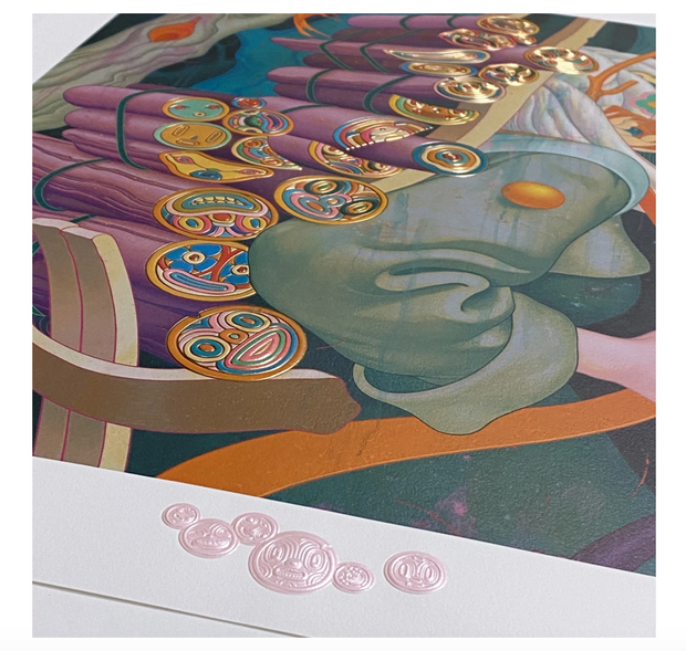 James Jean Kindling III 2020 Art Print