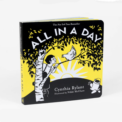 Cynthia Rylant & Nikki McClure (Illustrator) - Board Book All In A Day