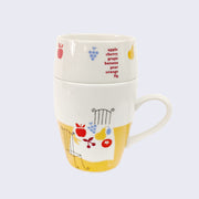 Shinzi Katoh - Mug Set (Fruit Table)
